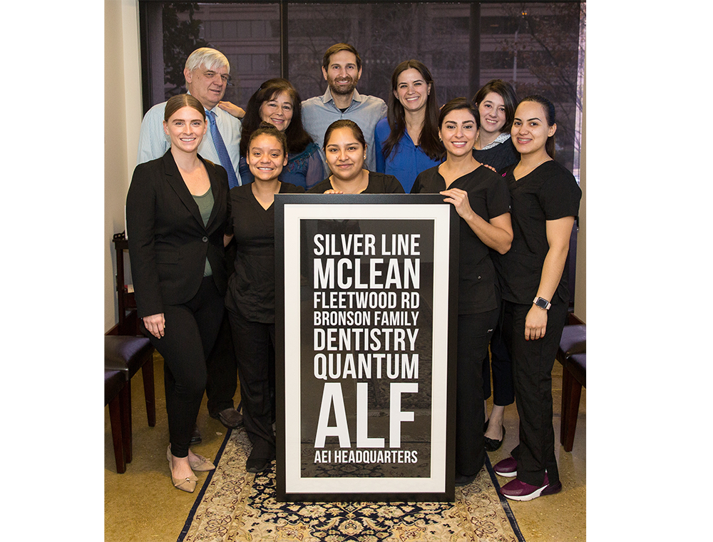 About Bronson Family Dentistry in McLean and Charlottesville, Virginia